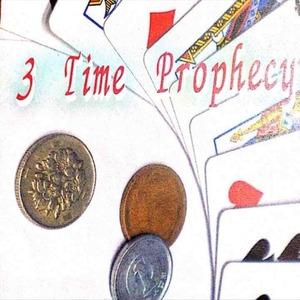 3time prophecy即興メンタルカードマジック‼️トランプ付き‼️手品