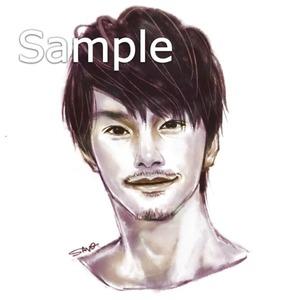 リアルめの似顔絵、アイコン描きます!
