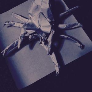 折り紙 蜘蛛