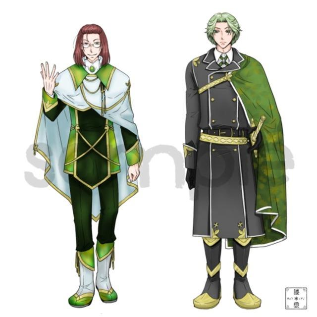キャラクターデザイン(リメイク版)