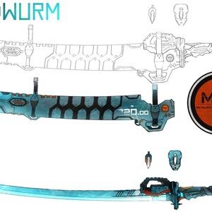 武器デザイン制作致します