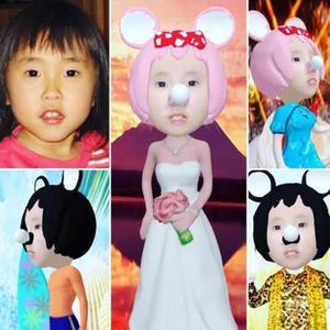 3Dデジタル似顔絵 キャラクター