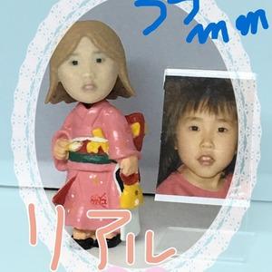 写真から3Dフィギュア作成35mm