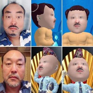 似顔絵やSNOWから3Dデジタル似顔絵作製しOBJで納品します。