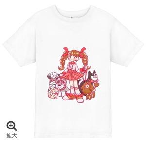 私はわんこ派!!!!!Tシャツ