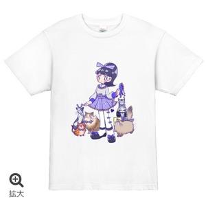 私はにゃんこ派!!!!!Tシャツ