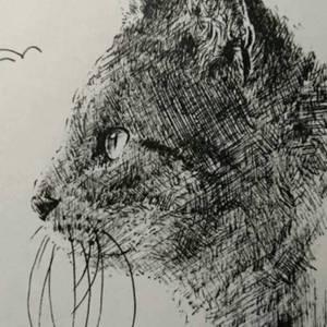色鉛筆画・ボールペン画 動物