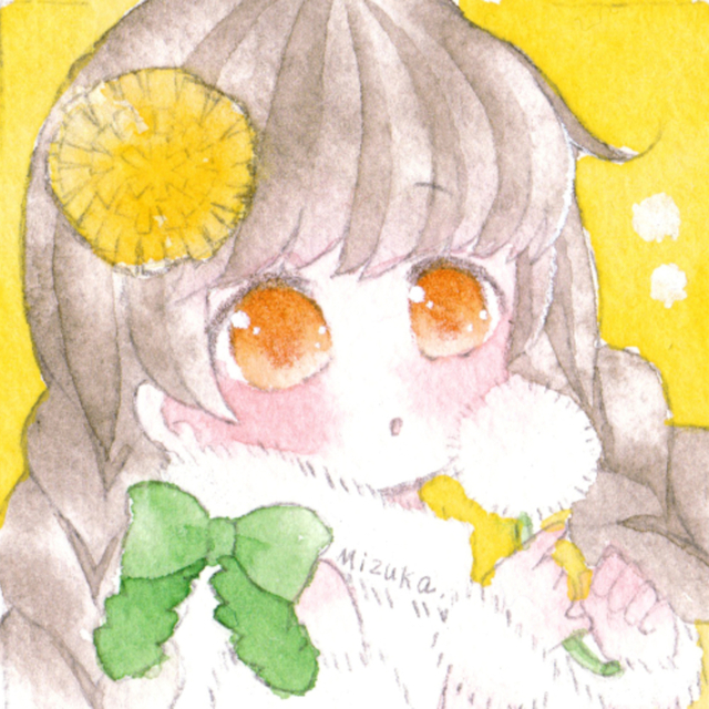 【水彩】SNSアイコン制作いたします!