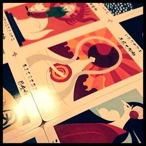 日本の神様カード2枚引き占い
