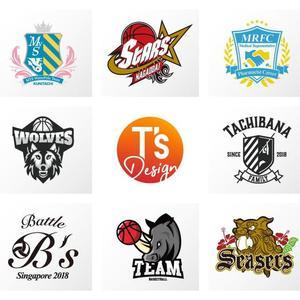 あなたのチームロゴを制作します