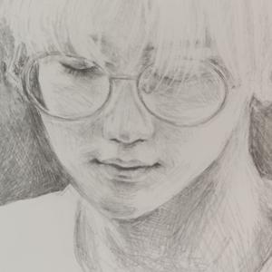 人物模写 鉛筆画