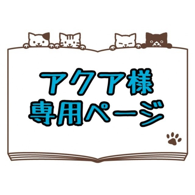 アクア様専用ページ
