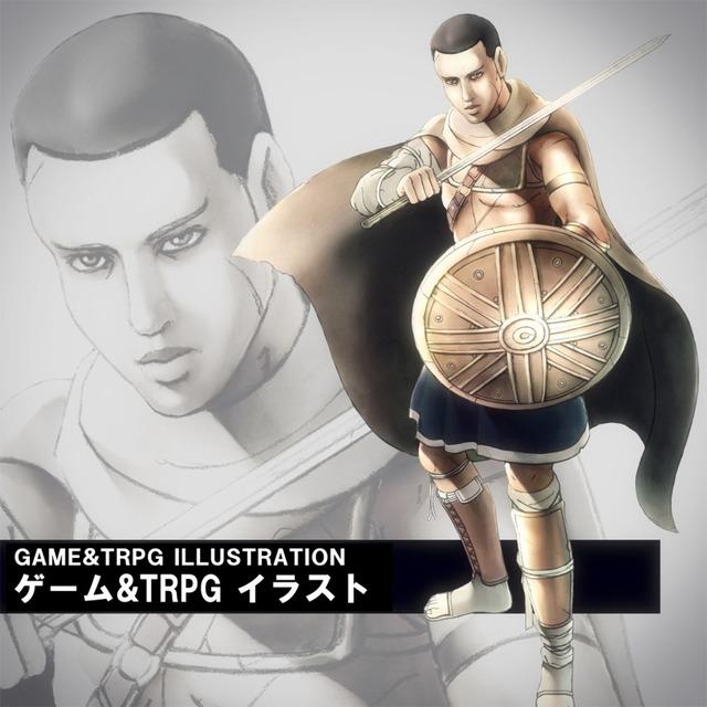 ゲーム&TRPG イラスト、キャラクター制作