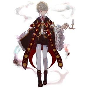 キャラクターデザイン(資料画像&立ち絵)