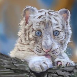 可愛い、かっこいい、好きな動物を絵にしましょう♪