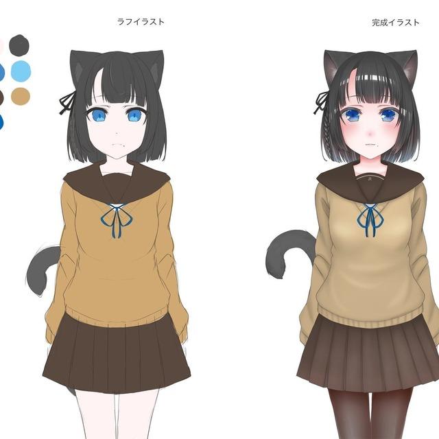 キャラクターデザイン、立ち絵