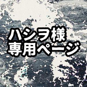 【ハシヲ様専用ページ】