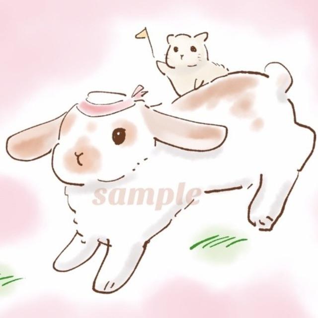 ペットや動物のイラストお描きします!