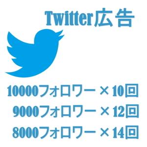 Twitter(1万フォロワー)で広告ツイートいたします