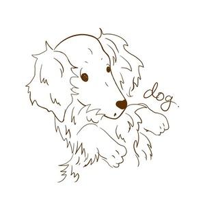 愛犬のイラスト!