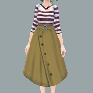【VRoid】お着替え用に!衣装のオーダーメイド承ります