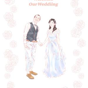 *結婚式ウェルカムボード*