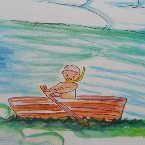 育児レポート、挿し絵付き