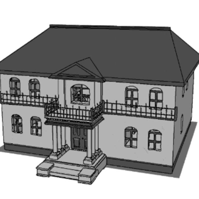 小物や建物の3Dモデリングをします!