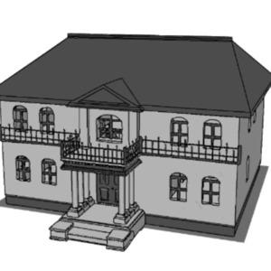 CADソフトで小物や建物の3Dモデリングをします
