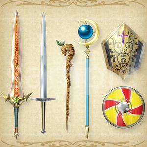ゲームの武器やアクセサリー描きます!