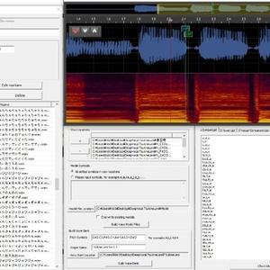 DeepVocal原音設定します