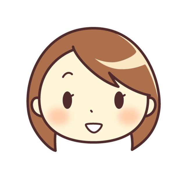 シンプルな絵柄の似顔絵(顔のみ)アイコンを描きます