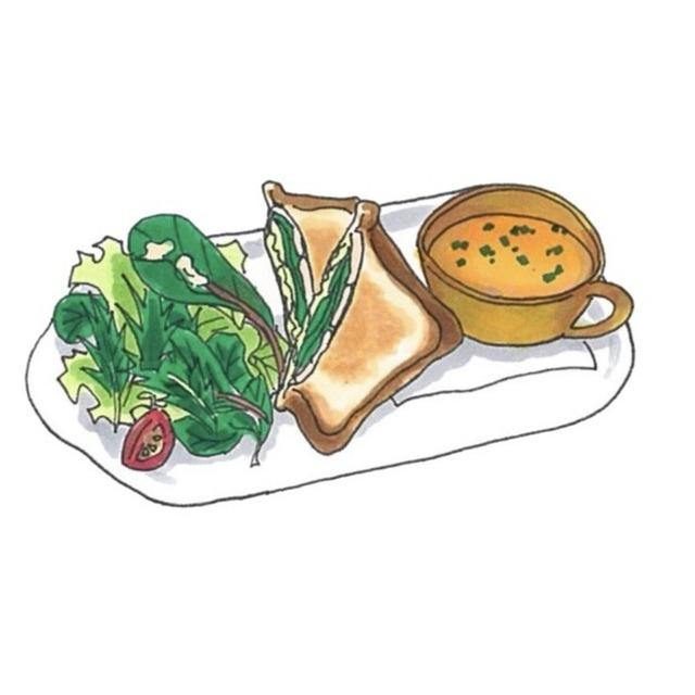 食べ物の挿絵
