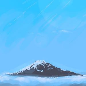 富士山 山 風景