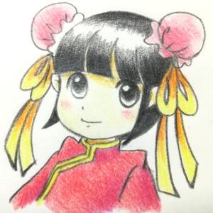 色鉛筆の挿絵
