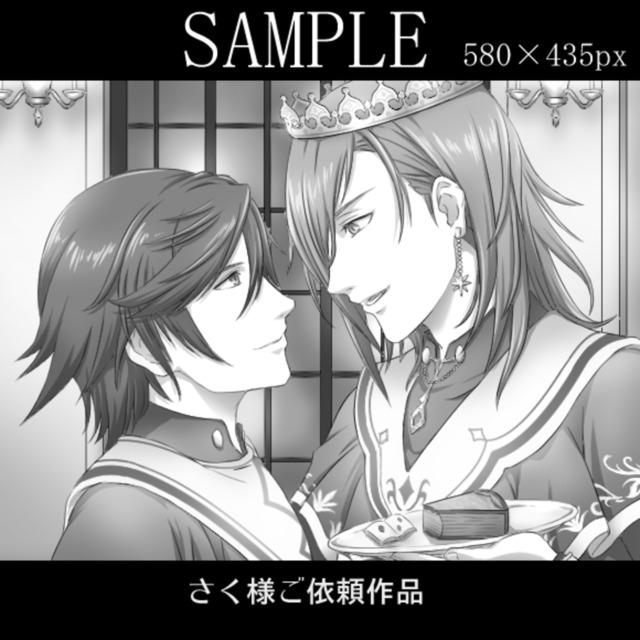 小説等イラスト制作(モノクロ / フルカラー)