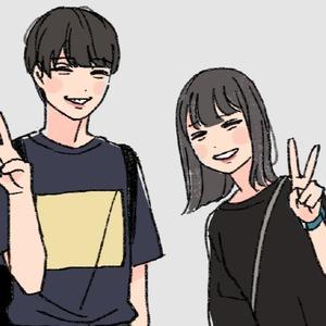 【カップル限定】おふたりの似顔絵描かせてください!