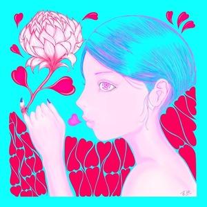 運命の赤い蓮(青)