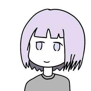 ジト目ぱっつん娘