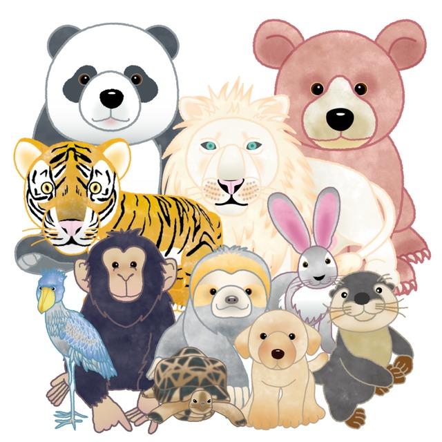 ペットや動物のPOPなイラストお描きします〜
