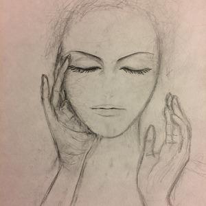 偏頭痛の美女