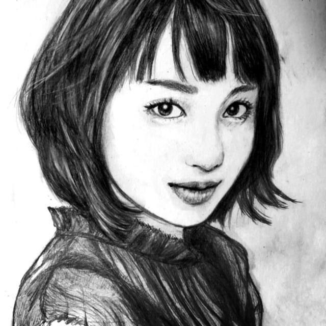 写真を元に鉛筆画をお描きします