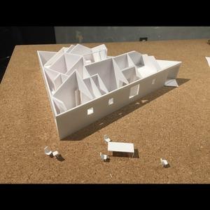 住宅の建築模型(白模型・スタディ模型)を製作します 建築イメージを具現化しよう