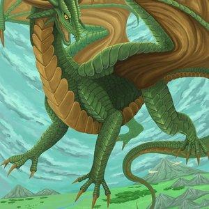 ドラゴンのイラストを描きます
