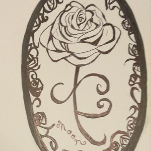 アンティークなどのデザイン画描きます。