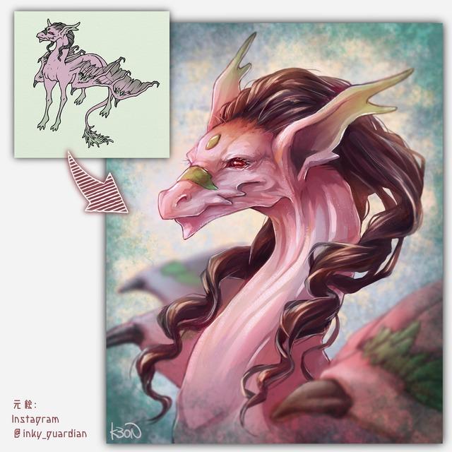 あなたの幻獣リアルに描きます