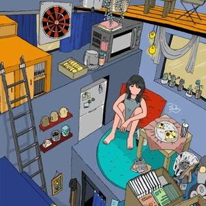 CDジャケット、本の表紙などに!目を引く可愛いイラストを描きます!!!