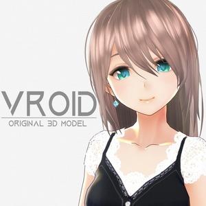 VRoidでオリジナル3Dモデルを制作致します