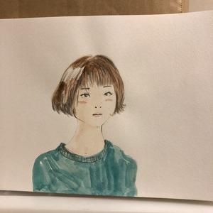 似顔絵描きます