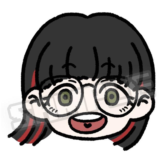 【SNSアイコンに!】ポップデフォルメイラスト